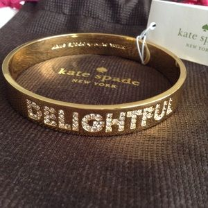 "NWT Kate Spade New York ""Delightful"" Bangle"